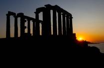 Temple of Zeus, in shadow